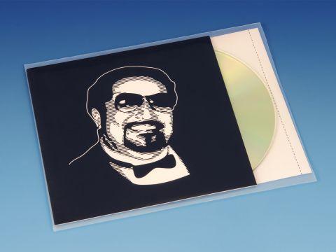 Plastic CD Hoesjes - Voor CD, Boekje + Inlay