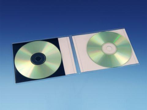 Hoesjes Dubbel CD's - CD, Boekje + Inlay