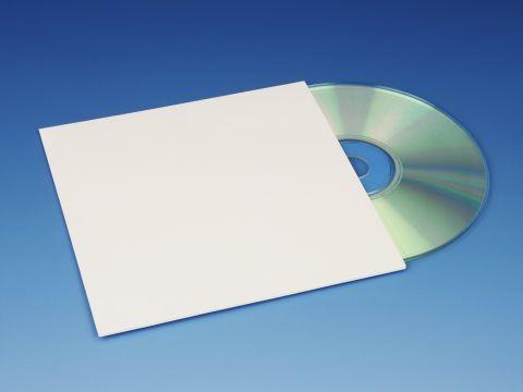 CD Hoesjes Karton, Wit
