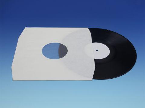 LP Binnenhoezen - Wit Polybag