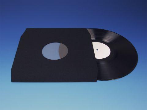 LP binnenhoezen - Zwart Polybag