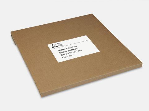 Verzenddozen 1-3 LP's