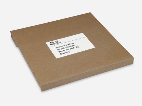 Verzendkarton 1-6 LP's