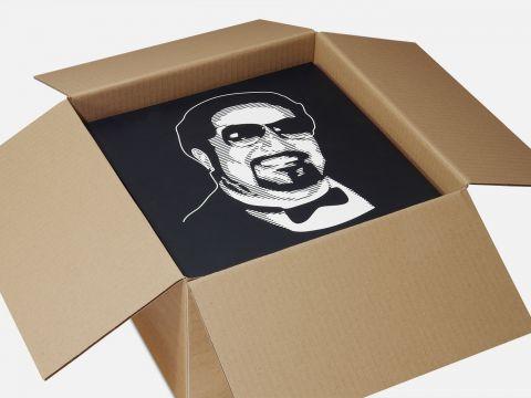 verzenddozen voor 40 tot 50 LP's