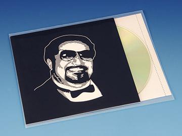CD Hoesjes voor boekje CD Inlay -