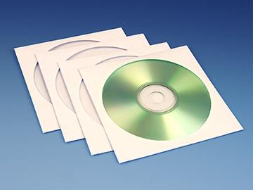 Papieren CD Hoesjes