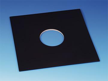 Kartonnen LP Hoezen - Zwart, met Gaten