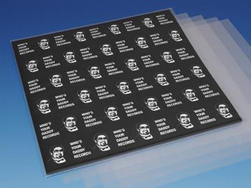 Plastic LP hoezen PE 100 micron