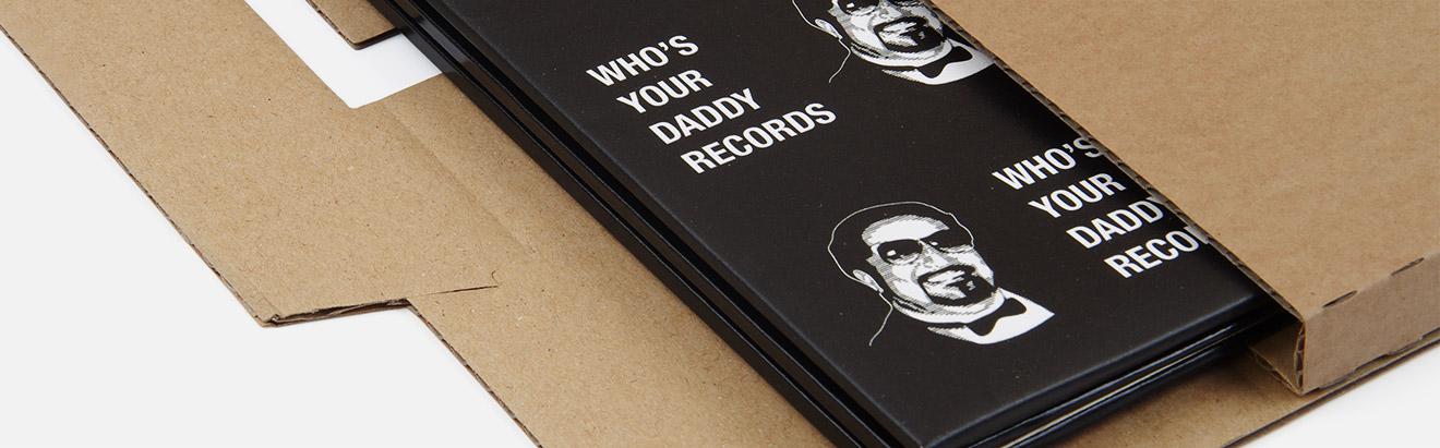 Verzenddozen voor LP's en Singles