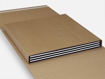 Verzenddozen voor 1-12 LP's