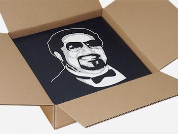 Verzenddozen voor 25 LP's