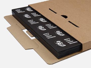 Verzenddozen voor 1-6 LP's